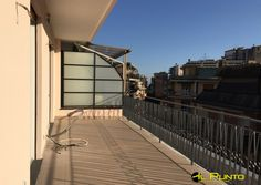 Penthouse completely renovated with two terraces In the central area and flat, renovated penthouse with double glazing, electric shutters, air conditioning, two new bathrooms, kitchen with pantry, two bedrooms, living room and two large terraces. Possibility to rent cellar and parking. Contract 3+2 Price € 1.000 monthly (IPEg 198.56 kWh/m2year class G-class D IPEi 51.28 kWh/m2year)