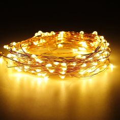 String lights decornova 3 set of micro 60 leds super bright color string lights decornova 3 set of micro 60 leds super bright color wire rope lights battery operated on 98 ft long copper color ultra thin string aloadofball Choice Image