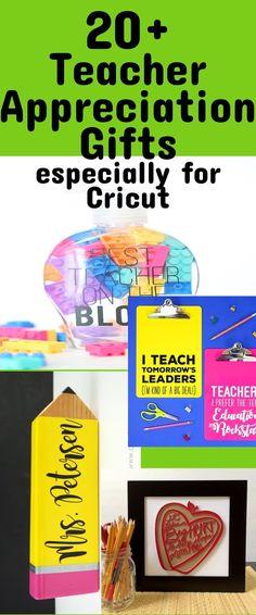 Cricut Teacher Gifts / Cricut Ideas / DIY Cricut Projects / Cricut Maker / Cricut Explore Air 2 / Teacher Appreciation / Teacher Gifts #teachergifts #teacherappreciation #cricutmade #cricutprojects #cricutdiy