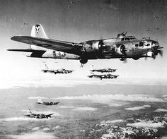 B-17, Flying Fortress Bombers