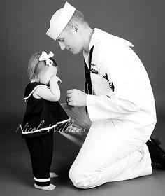 navy & baby