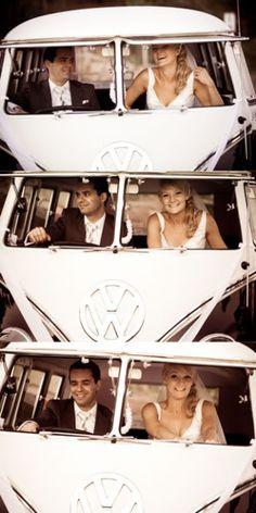 Kombi Wedding Pics - totes doing this!