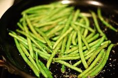 Healthy Recipes: Easy Green Beans