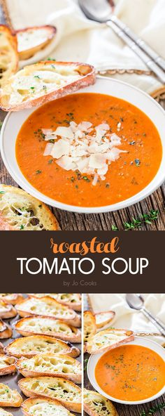 Roasted Tomato Soup   7 Easy Dinners That Are Tasty AF