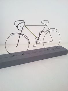 Louise Dawn Wilson's wire bike sculptures are a real treat for Dad this Father's Day.