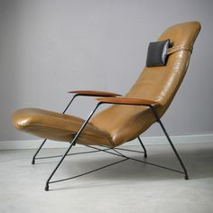carlo hauner, lounge chair for forma italy, 1959
