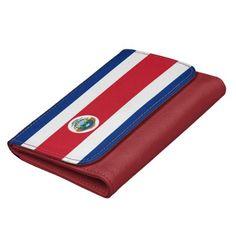 Costa Rican flag Wallet