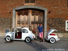 Fiat 500 Car Trailers