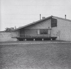 Casa de Fernando Gómez. Durana. Alava. España. 1959-60. Francisco Javier Sáenz de Oíza