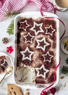 Bratapfel-Spekulatius-Tiramisu Tiramisu Dessert, Drip Cakes, Christmas Desserts, Christmas Recipes, Christmas Time, Diy Food, Nutella, Sweet Treats, Food Porn