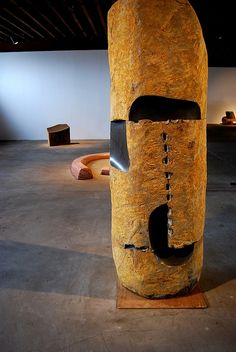 Noguchi sculpture, Long Island City, United States