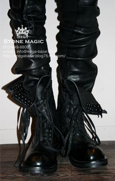 KMRii  BOOTS CHROME BOOTS