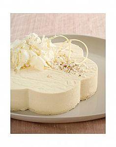 עוגת מוס שוקולד לבן ופצפוצי אורז