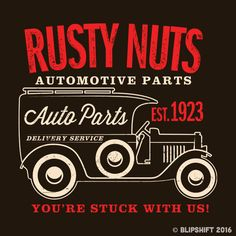 """The """"Drives Ya Nuts"""" tee by Mike Dexter. Sold out Feb 7."""
