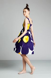 Udele dress by Marimekko - Love the large floral!