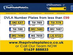 We have over 45 million registrations on our DVLA number plate search system at the cheapest prices. https://www.theprivateplateco.co.uk/dvla-number-plates.html