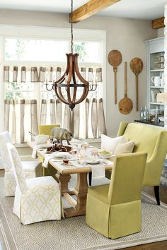 Citron greens pair beautifully with whites and neutrals