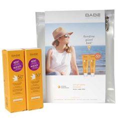 Babe Yüz İçin Yağsız Güneş Koruyucu Krem SPF50+ 50ml 2li set şimdi 60.90 TL lik tanıtım fiyatı ile https://vivago.com.tr/babe-yuz-icin-yagsiz-gunes-koruyucu-krem-spf50-50ml-2li-set sayfamızda
