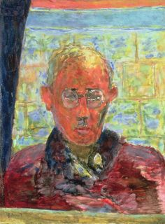 Portrait of the Painter in a Red Dressing Gown, Pierre Bonnard, 1943