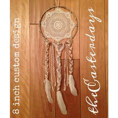 bohemian dreamcatcher SMALL  CUSTOM DESIGN by theeasterdays, $25.00    boho wedding free spirit dream catcher
