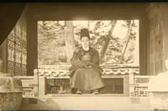 Rare clear image of Crown Prince SunJeong. Percival Lowell photos ca. 1882