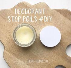DEODORANT STOP POILS #DIY. Faire son déodorant maison, 100% naturel c'est très facile et je vais te montrer comment dans cet article.