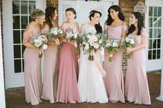 Bridesmaids / Alison and Sean / Paul Francis Photography / Old Field Club