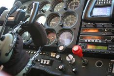 Cessna 172 Cockpit, via Flickr.