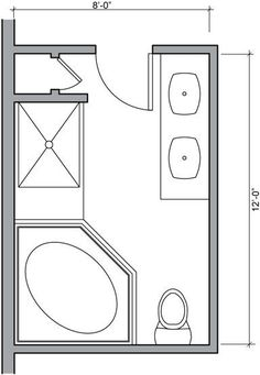 1000 ideas about small bathroom plans on pinterest for Bathroom designs 8 x 10