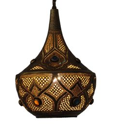 Get Moroccan light fixtures from E Kenoz! This jeweled brass table lamp is perfect for any space. Warm, exotic & so affordable. Shop online with us today! Moroccan Ceiling Light, Moroccan Chandelier, Moroccan Art, Moroccan Lighting, Moroccan Lanterns, Moroccan Interiors, Moroccan Style, Moroccan Bedroom, Brass Table Lamps