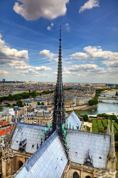 View from the Towers of Notre Dame by Anthony Festa on 500px