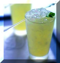 the vodka mojito.