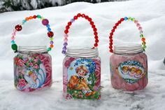 .cute craft idea for girls birthday party