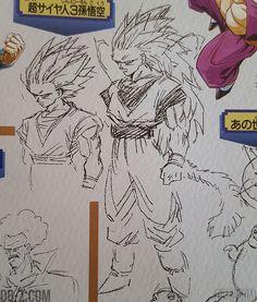 Sketch Akira Toriyama Goku SSJ3