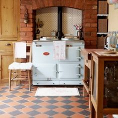 8-kitchen-flooring-ideas-Terracotta.tiles | HomeKlondike.com - Home Interior Design, Architecture and Decorating Ideas