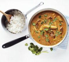 Thai pork & peanut curry