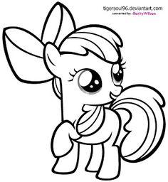 My Little Pony Apple Bloom Smiling