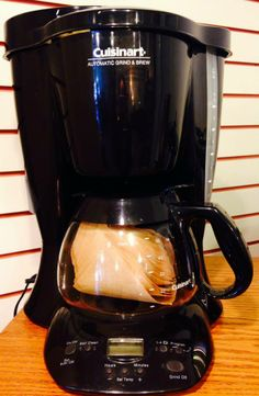 Cuisinart Automatic Grind and Brew Coffee Machine