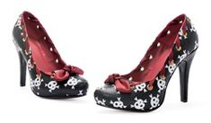 Skull Rockabilly High Heel Shoes