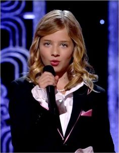 Jackie Evancho - Born April 9, 2000 and already looks like she is 20 - She has matured 10 years since her 2010 debut on America's Got Talent - She clearly should have won it all - One of my all time favorites now!