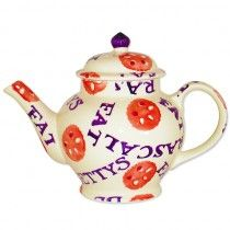 Fat Rascal Teapot, designed by Emma Bridgewater for Bettys Café [Cafe] Tea Rooms collection based on their Yorkshire Fat Rascal scones, c. 2016, ceramic, Harrogate, UK