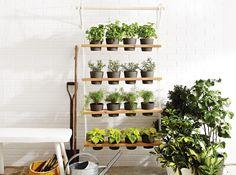 It's time to bring the floral indoors. Fill a space saving DIY planter with your fav indoor plants. // Il est temps de rentrer nos fleurs à l'intérieur, mais pas d'arrêter de jardiner! Fabriquez vous-mêmes votre jardin vertical et remplissez-le de vos fleurs préférées.