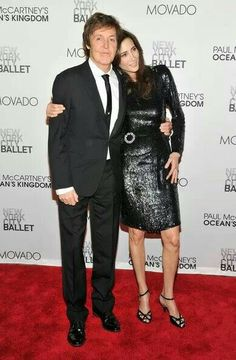 PAUL&NANCY MCCARTNEY