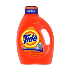 Tide 2x Ultra High Efficiency Liquid Laundry Detergent, Original... ($11) ❤ liked on Polyvore featuring home, home improvement, cleaning, etc and laundry