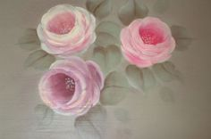 hand painted roses - Google Search