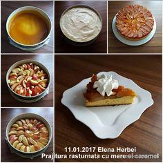 Prajitura rasturnata cu mere si caramel   Savori Urbane Caramel, Dessert Recipes, Desserts, Waffles, Food And Drink, Breakfast, Pie, Sticky Toffee, Tailgate Desserts