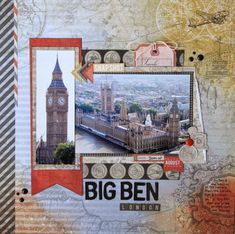 All About Scrapbooks - More Kaisercraft Now Boarding - by Fiona Johnstone