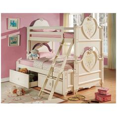 10 Awesome Girls' Bunk Beds