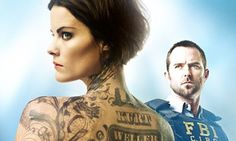 NBC renews Jaime Alexander's FBI drama Blindspot for second season | Daily Mail Online
