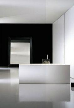 minimal bathroom | unknown designer